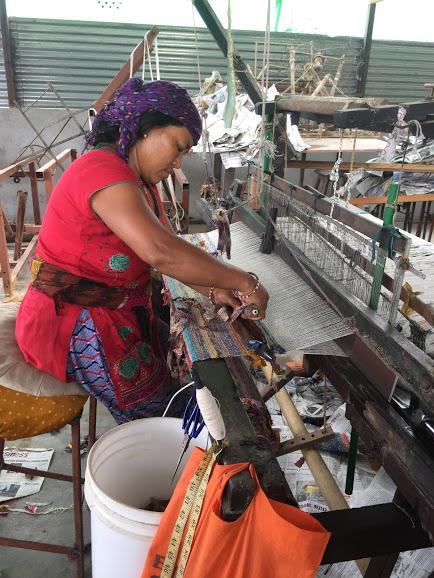Sanitary pads making Nepal